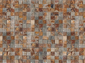 Панель из натурального камня Cupastone, Decopanel Puzzle Multicolor
